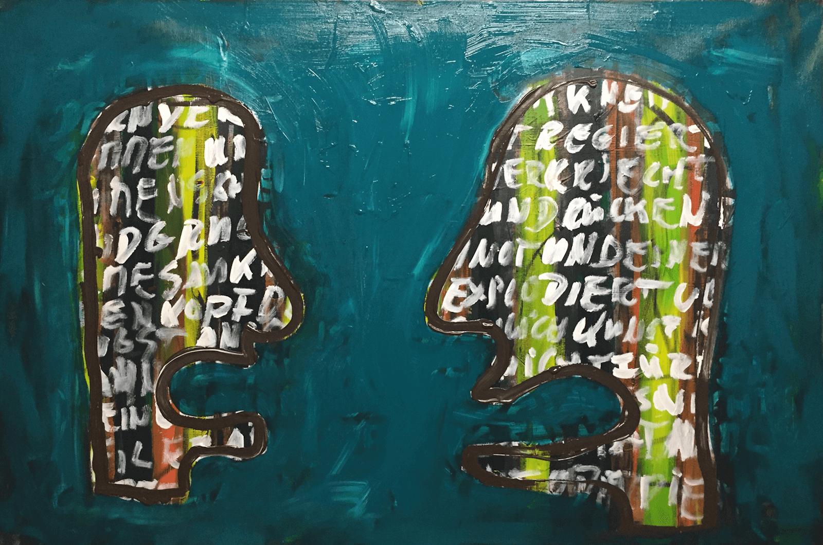 Acryl auf Leinwand, 100 x 150