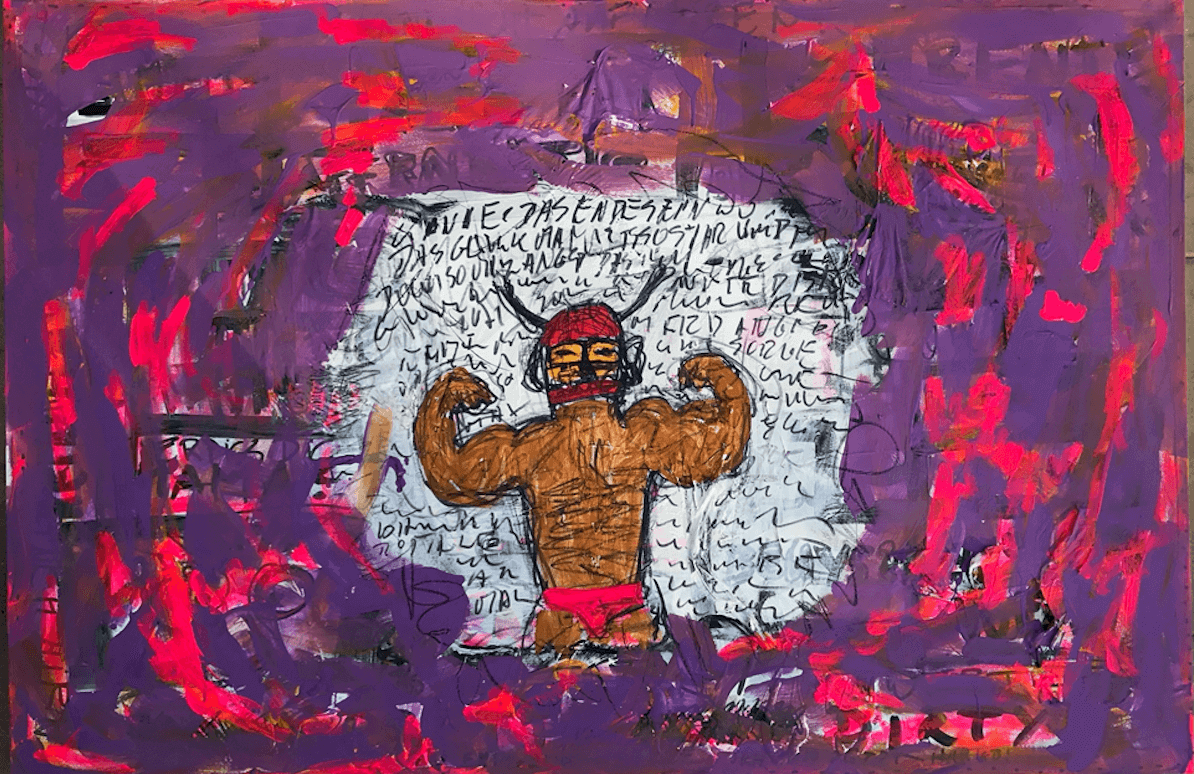 Acryl auf Leinwand, 120 x 100